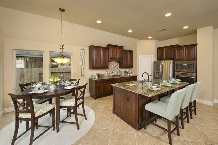 17 best images about firethorne model home 2 942 sq ft for Model home dining room