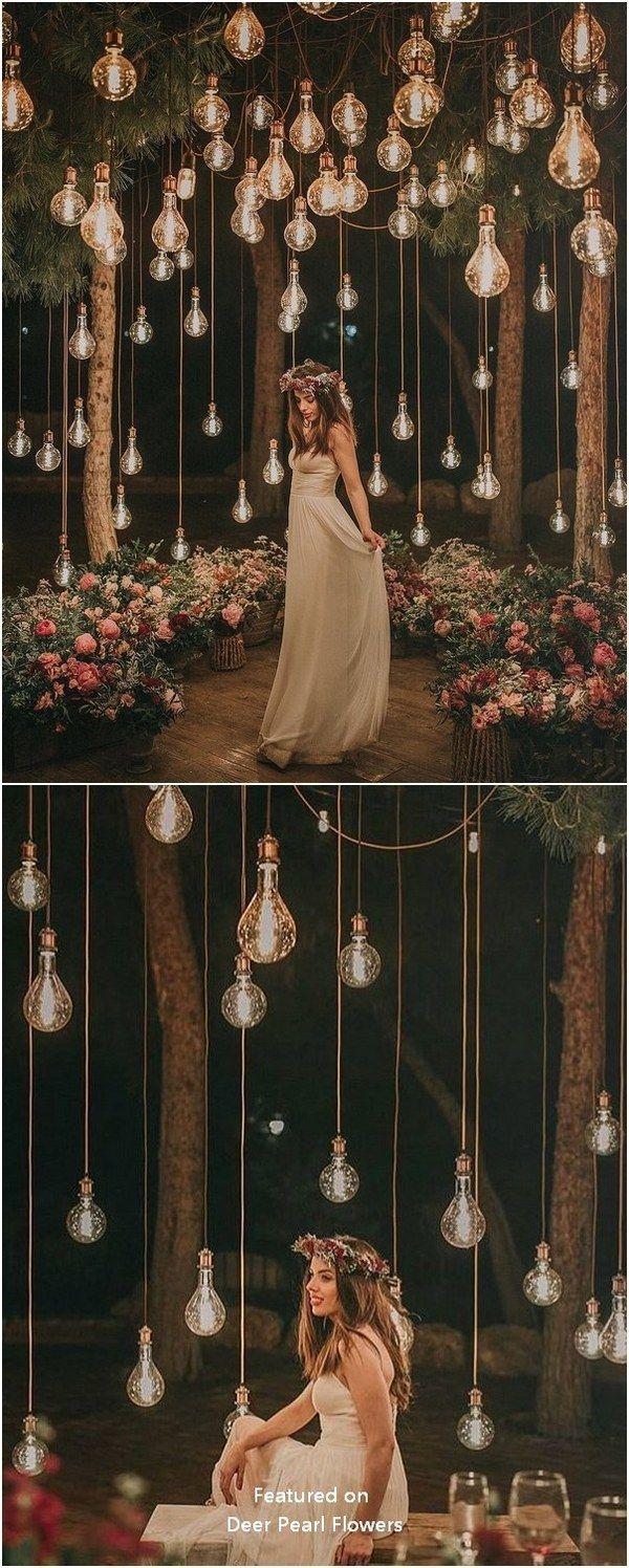 Top 20 debe ver fotos de bodas nocturnas con luces – inspiración de la boda
