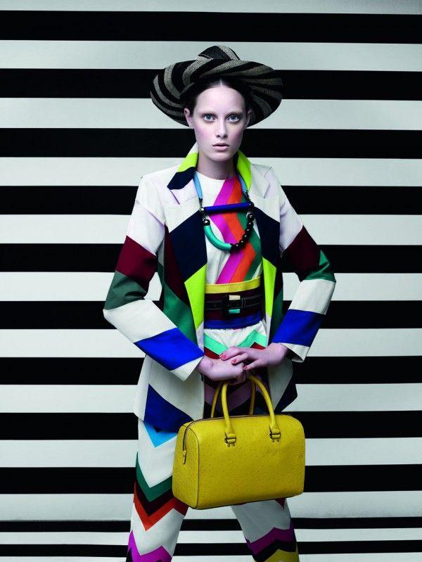 Photographer Gui Paganini shoots model Thairine Garcia for Brazilian Magazine Criativa  styled by Renata Correa