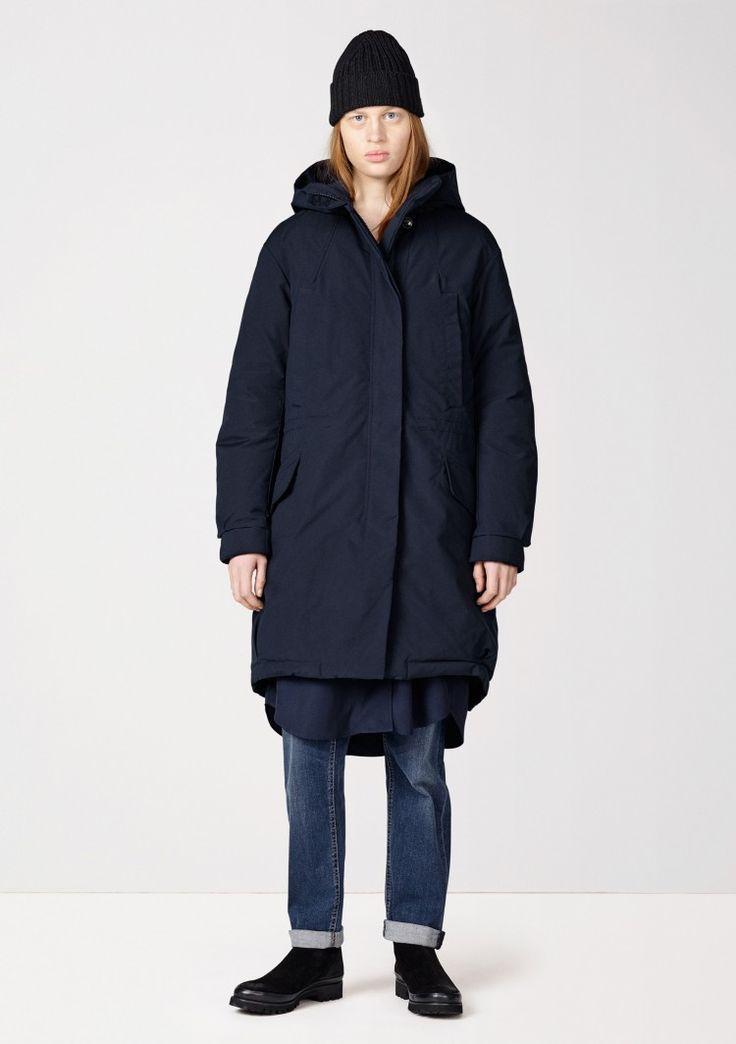 Wom Parka - Dk Blue - Coats & Jackets - Shop Woman - Hope STHLM