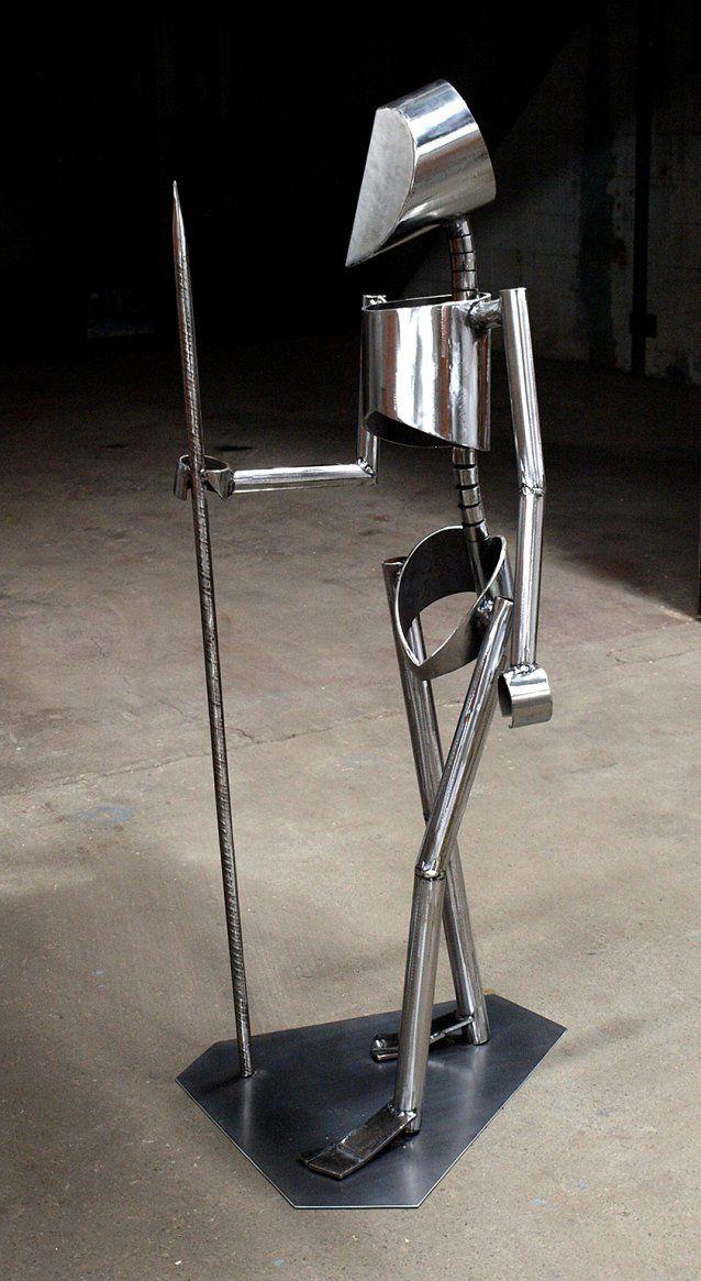 HOMO - par Sébastien Ouellet - Boutique des arts CULTURAT  #art #sculpture #acier #postcontemporain #Abitibi #Rouyn