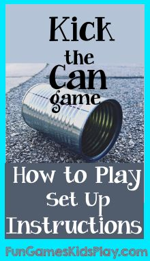 Kick the Can Game                                                                                                                                                                                 More
