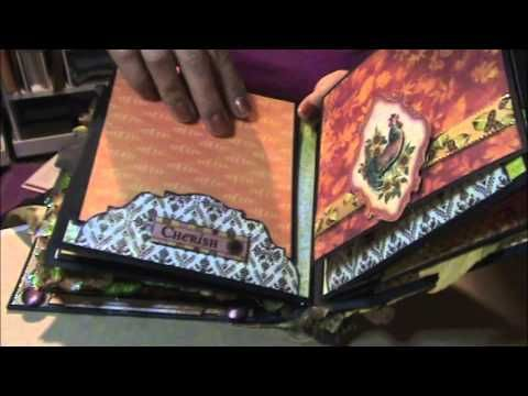 6 x 6 Fall Into Autum Mini envelope album - YouTube Those pages about 3:50 in!