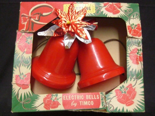 Red Christmas Bells. Still have a set of these....
