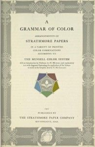 a grammar of color inside page - Books On Color Theory