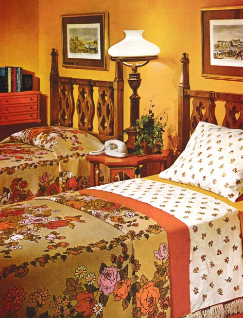 1960s Bedroom Decor