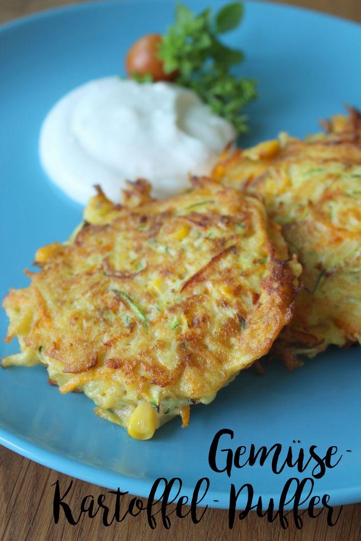 Gemüse-Kartoffel-Puffer   Kochen für Kinder ...