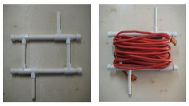 Diy Pvc Extension Cord Caddy Extension Cords Diy And