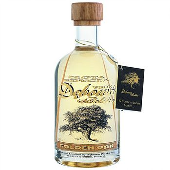Debowa Vodka - Polish Vodka at good prices! Our Debowa Vodka varieties are characterized by a very large popularity. The company Debowa manufactures not only classical but also Vodkas Vodkas in very creative wooden bottles. Those looking for an extraordinary Vodka Gift, is sure to find it here.