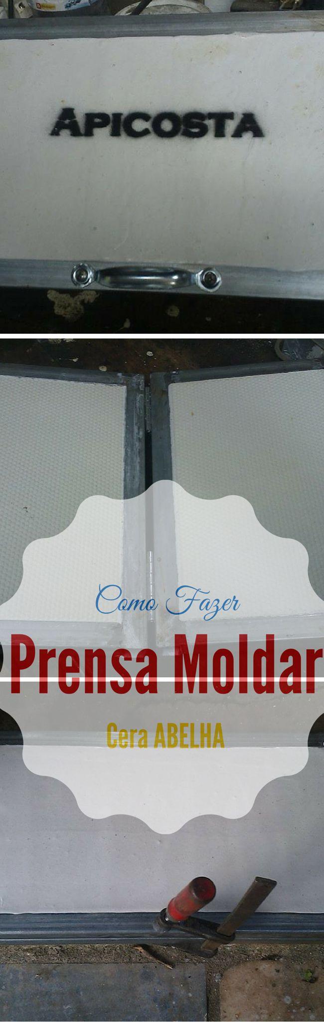 Prensa de Moldar Cera de Abelha, Para que possa moldar a sua cera quando e como quiser. http://apicosta.com/produto/prensa-moldar-cera-de-abelha/