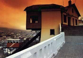 Ascensor C° Barón    ---   Ascensores de Valparaíso.org.   XXX