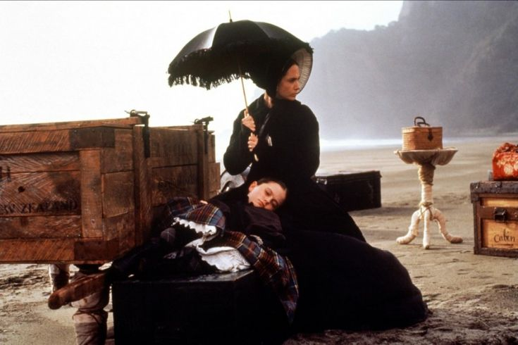 "Anna Paquin & Holly Hunter - ""The Piano""(1993) - Costume  designer : Janet Patterson"
