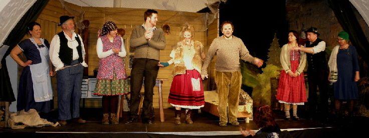 das Original Murnauer Bauerntheater spielt im Oktober wieder im Griesbräu