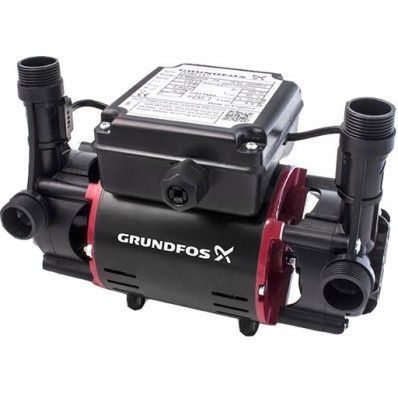 Grundfos STR2-1.5 C Twin Impeller Regenerative Shower Booster Pump