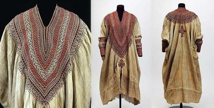 Vestido etíope fines siglo XIX