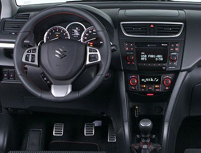 Suzuki Swift Sport. Modelo 2010.