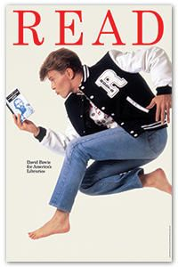 In addition to being a beloved musician, artist, and actor, David Bowie was also an avid reader.