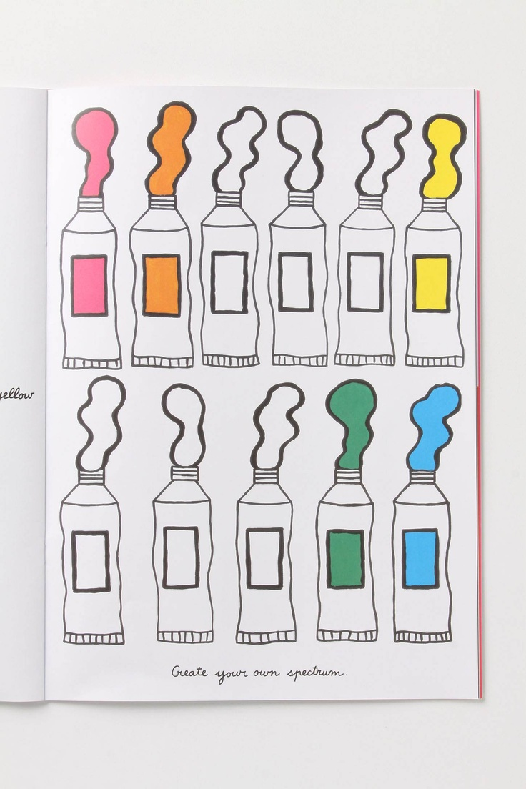 The color-play coloring book moma - The Color Play Coloring Book Written By Pascale Estellon For New York S Museum Of