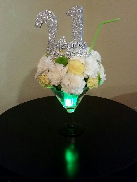 Best ideas about st birthday centerpieces on