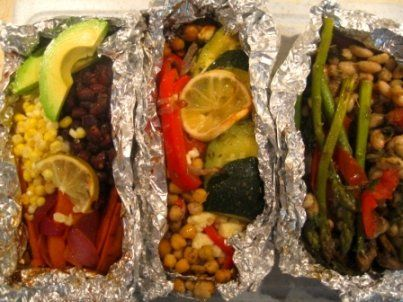 Cookouts aren't just for meatatarians. Vegetarian grilling recipes...yeah buddy.