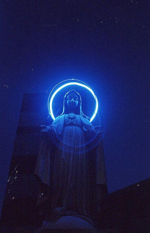 Deity Inspiration Art Direction Blue Aesthetic