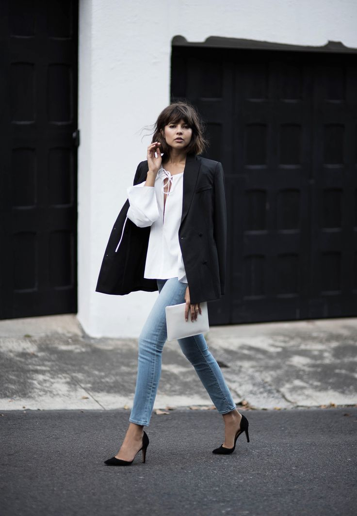 How To Wear Denim To The Office