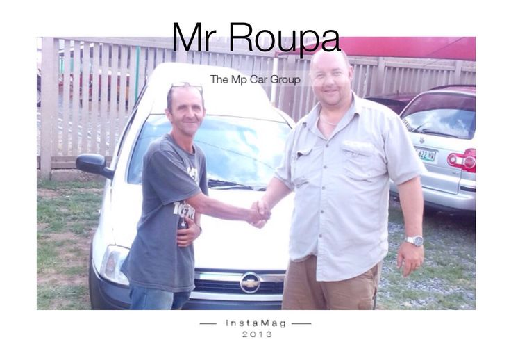 Mr Roupa we wish you many kilos ahead! #thempcargroup #nigel #cars #finance #delivery #thempway #chev #utility