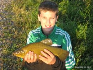 My first tench!