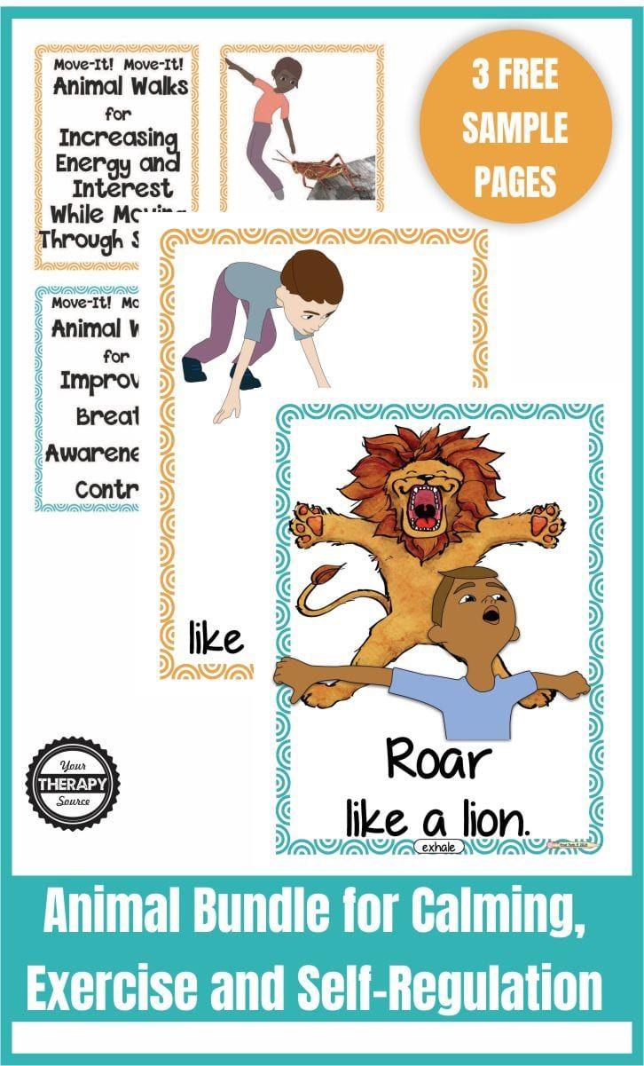 19++ Animal exercises for kids ideas
