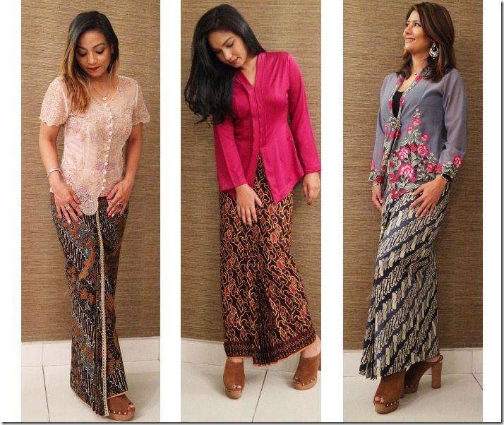The Kebaya And Batik Kipas Fashion Inspiration