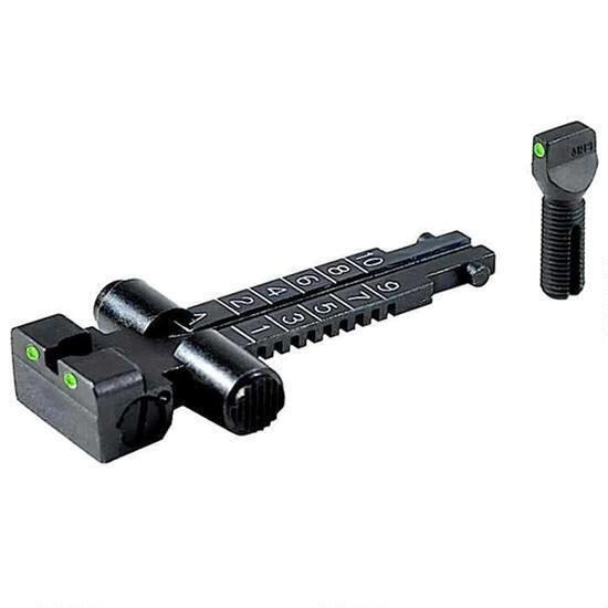 Mako Meprolight Tru-Dot AKM Rifle Night Sights Windage Adjustable ML33115 - 840103137322