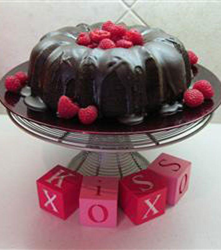 Triple Chocolate Bliss Cake