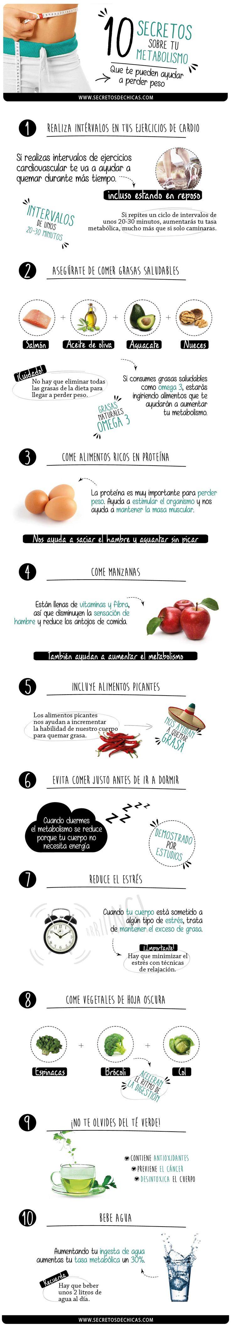 Secretos metabolismo