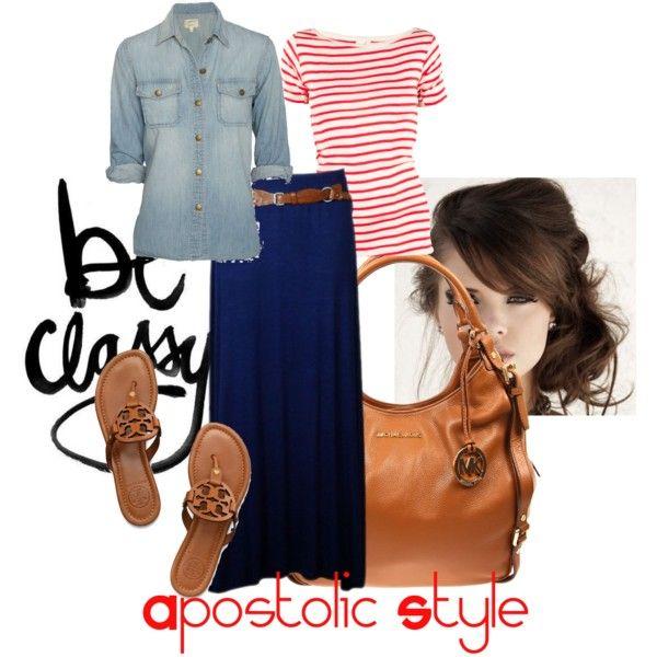 Apostolic style, created by emmyholloway on Polyvore