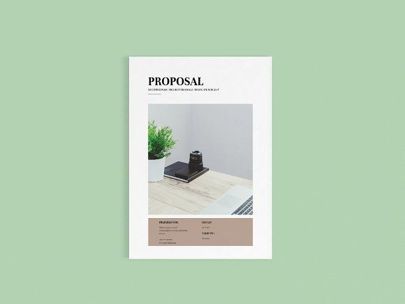 Business Proposal | Indesign&MS Word  @creativework247