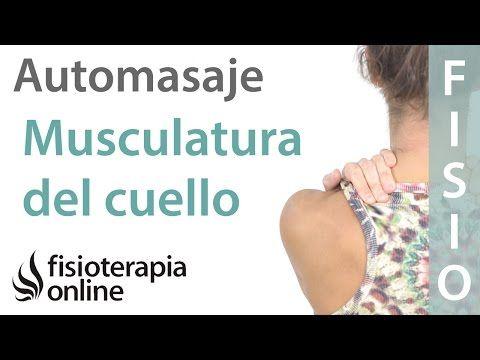 Auto-masaje para liberar la tensión de cuello, cervicales y de trapecios. - YouTube