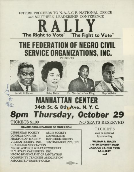 The Right To Vote Rally | Print | Wisconsin Historical Society