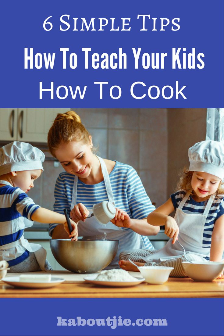 Cooking is a life skill that everyone should know, teaching your children to cook from an early age will benefit them greatly. Here are some simple tips to get started with teaching your children how to cook.   #CookingSkills #TeachKidsToCook #ChildrenCooking