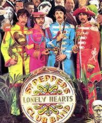 Resultado de imagem para sgt pepper's lonely hearts club band cover
