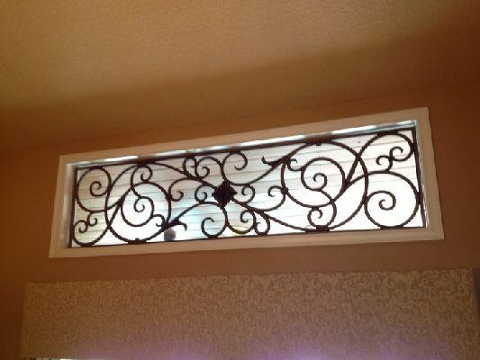 Wrought Iron Window Iron Window Treatement Window