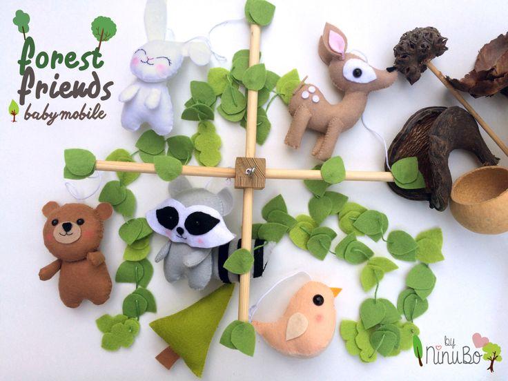 1000 ideas about woodland mobile on pinterest woodland nursery nursery and nursery decor. Black Bedroom Furniture Sets. Home Design Ideas
