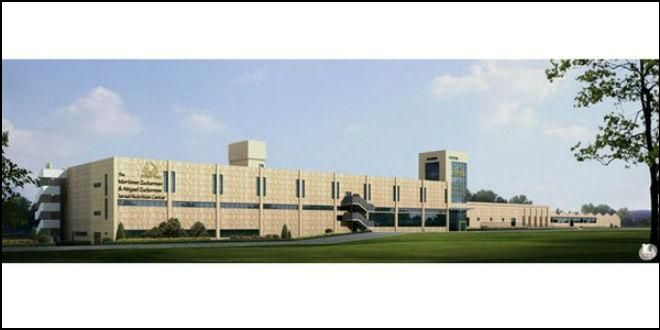 LARGEST INSTITUTIONAL KITCHEN IN THEMIDDLE EAST SET TO OPEN IN ISRAEL TO FEED COUNTRY'S HUNGRY - iT'S READYING ITSELF TO PRODUCE200,000 HOT MEALS PER DAY TO FEED HUNGRY ISRAELIS -Rendering of The Mortimer Zuckerman & Abigail Zuckerman Israel Nutrition Center (Photo: Meir Panim)