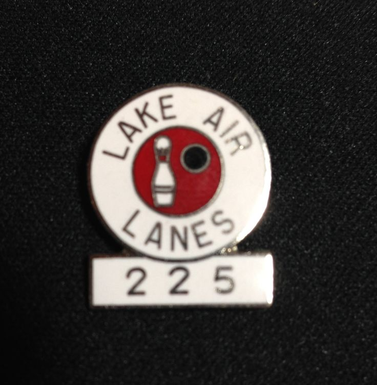 225 Game Pin Bowling Achievement Acknowledgement Lake Air Lanes Waco Texas by RobsHobbies on Etsy