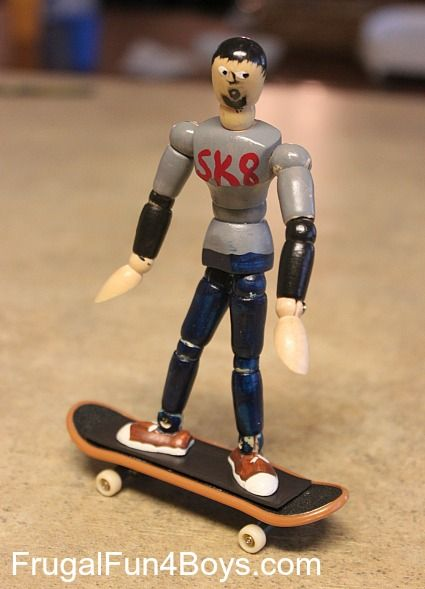 Magnetic Skater Dude Craft