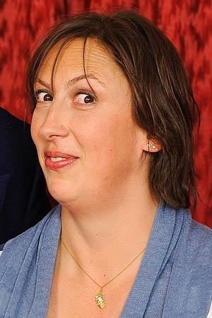 Miranda Hart...This is one crazy lady and a very funny show!