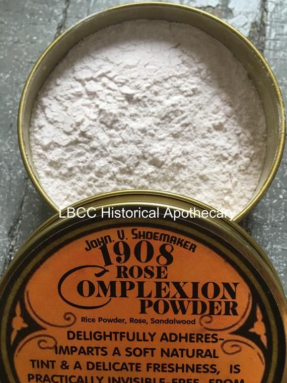 1900-1910 Edwardian Makeup and 1908 Rose Complexion Powder- Lovely ...