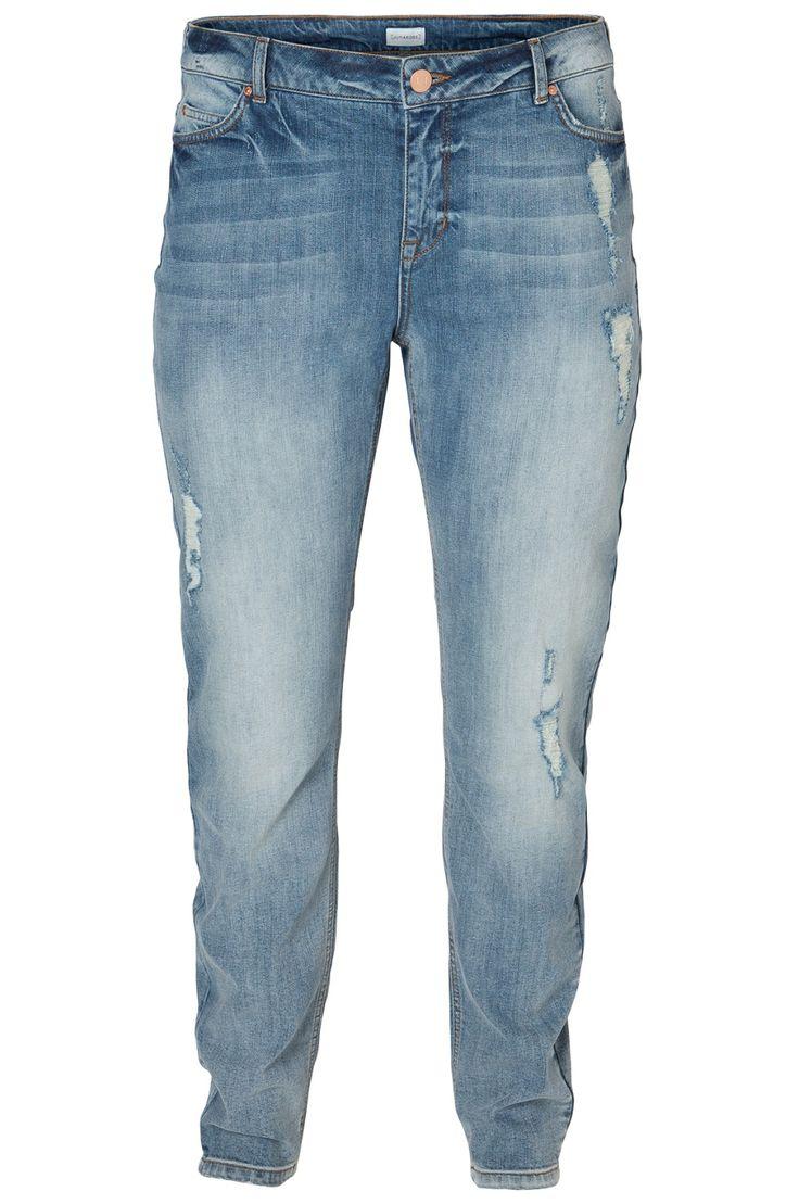 Jenas broek LONDON Junarose LW LOOSE :: jeans :: Grote maten - mode online | Gratis verzendig | Bagoes fashion