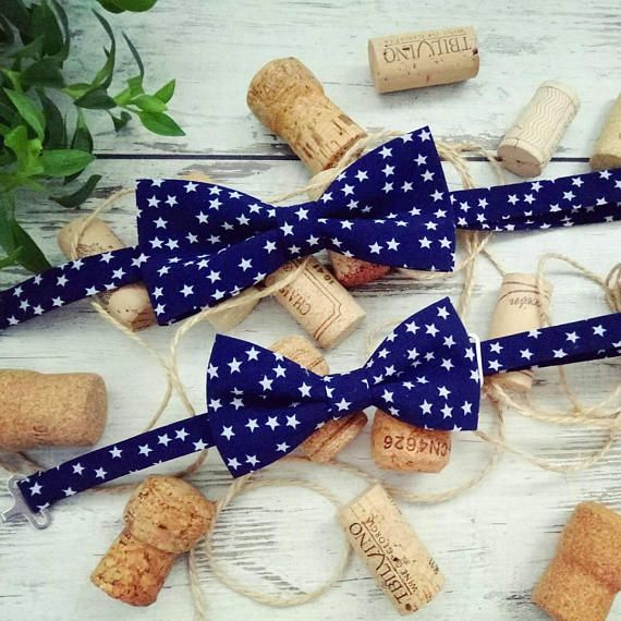 Set of accessory Bow tie Family look