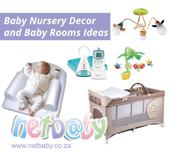 We have all the wonderful baby room ideas to create the perfect baby nursery for your little one. http://www.netbaby.co.za/baby-nursery