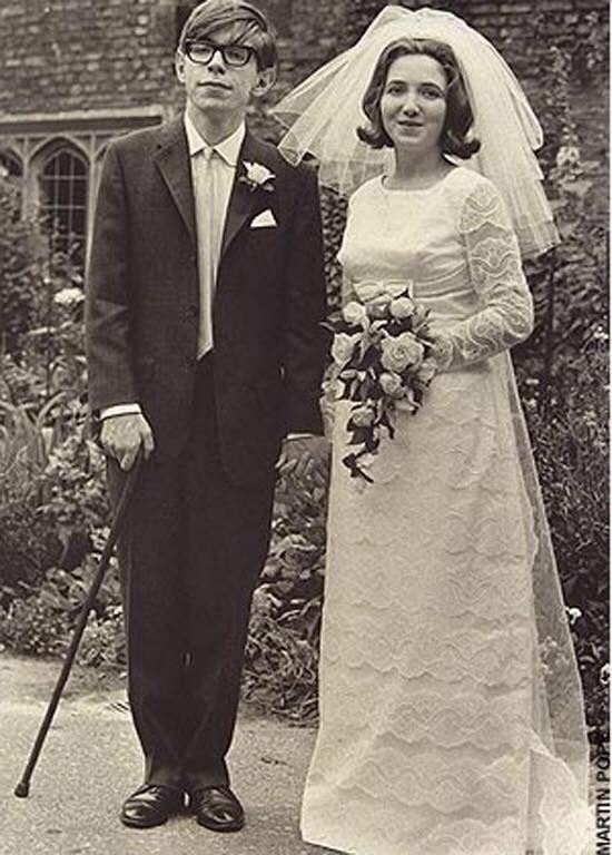 Stephen Hawking wedding 1965